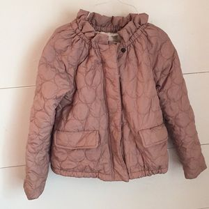 Crewcuts Girls Quilted Jacket Size 6/7